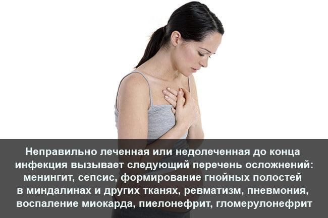 Ангина в период беременности