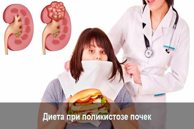 Питание при почечном поликистозе