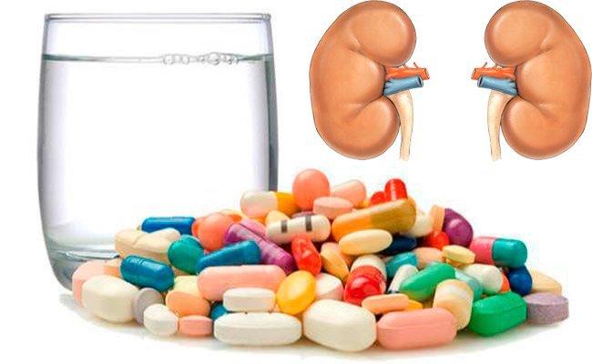 Таблетки при пиелонефрите