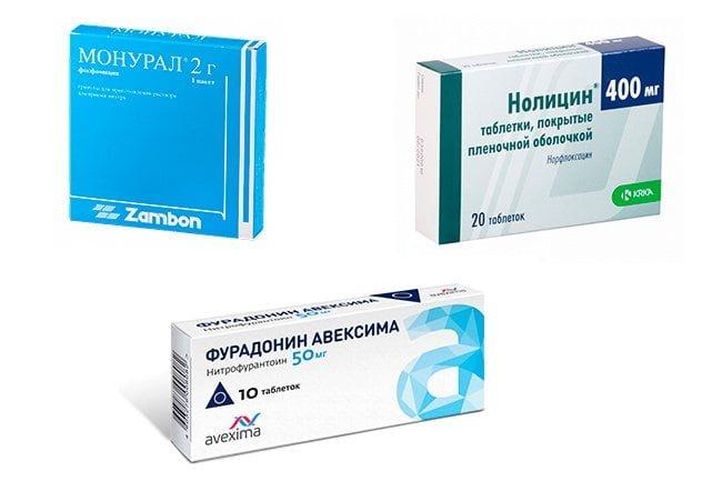 Антибактериальные средства от цистита