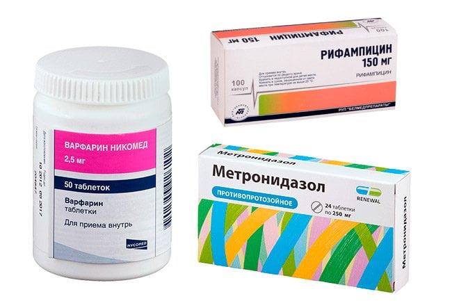 Препараты, предающие моче оранжевый цвет