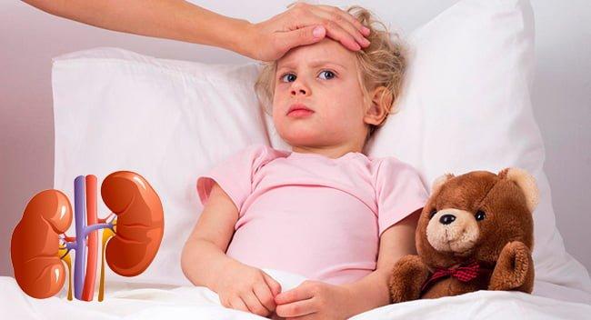Симптомы пиелонефрита у девочки