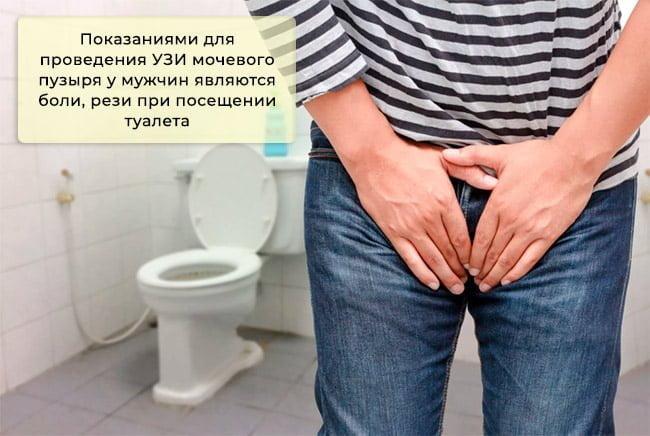 Боли и рези при посещении туалета